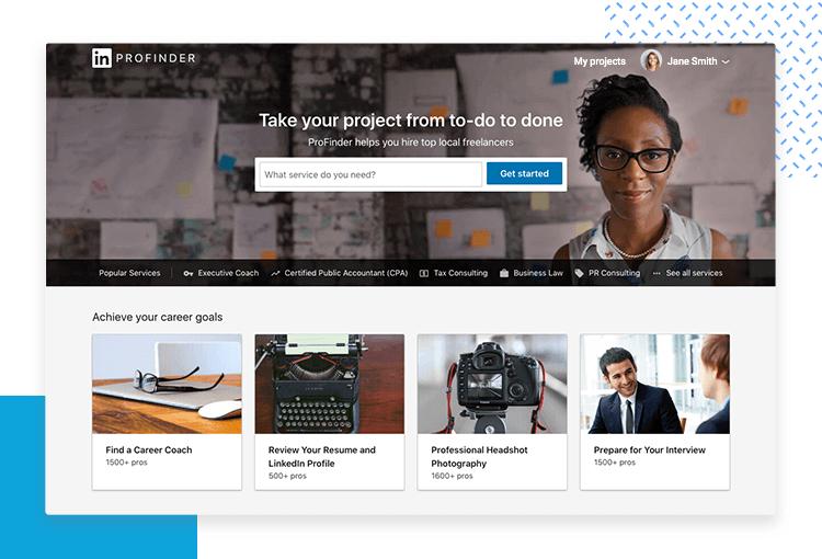 LinkedIn UX designer profiles - Profinder tool