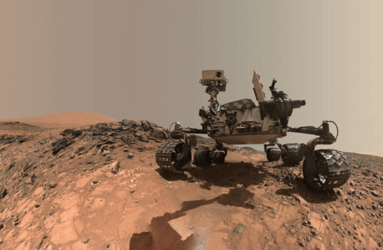 UX design at NASA - Mars Rover