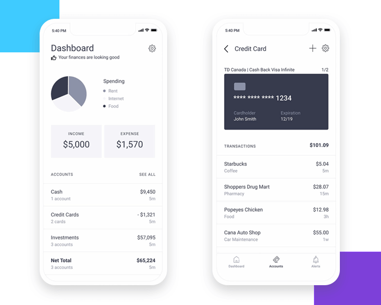 app wireframe by priscilla wong