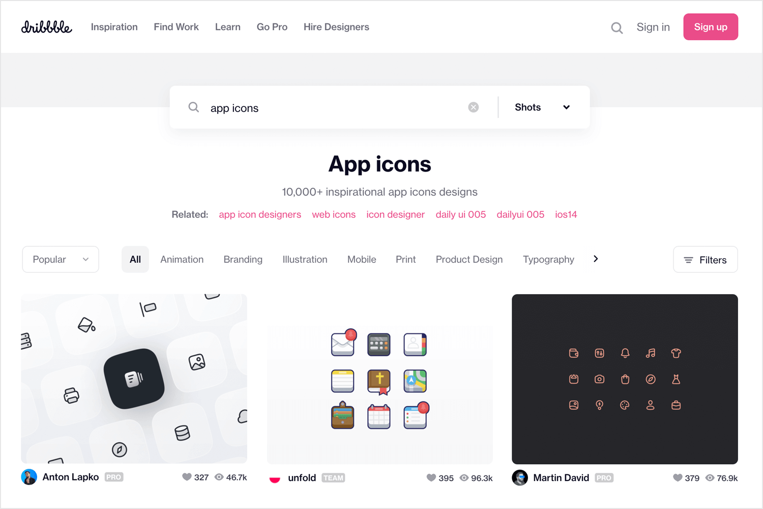 Free app icons to download - Dribbble