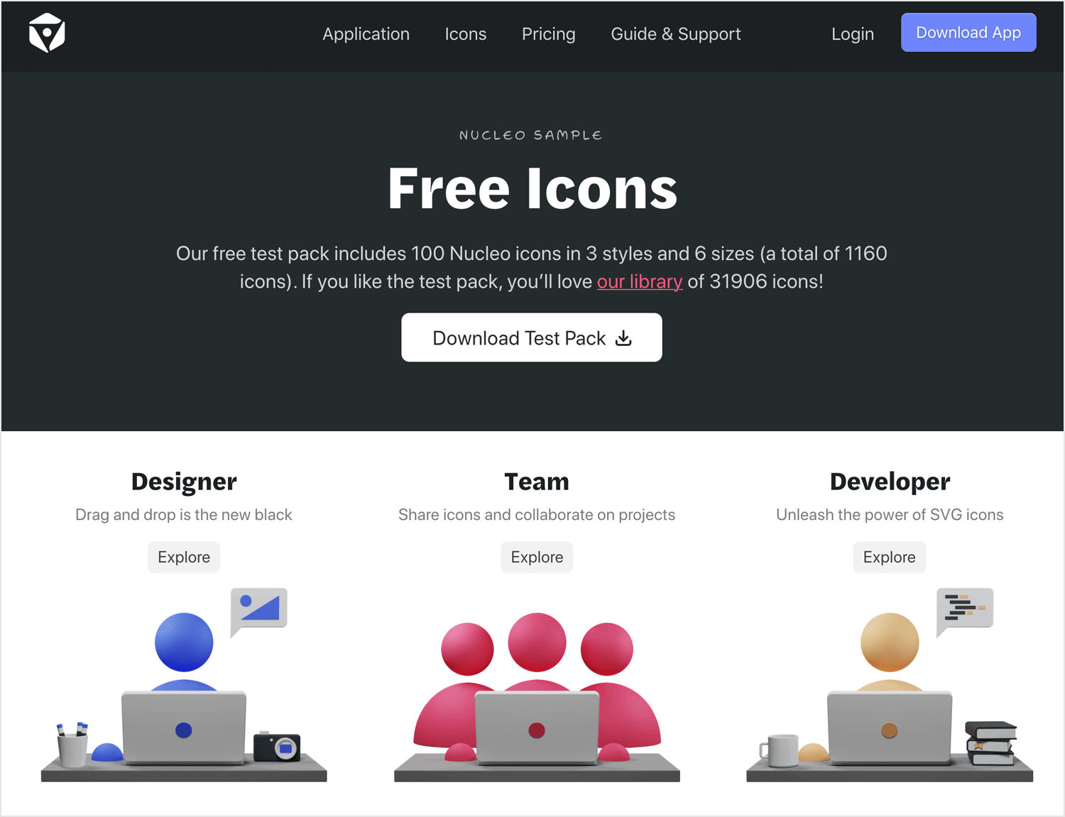 Free app icons to download - Nucleoapp
