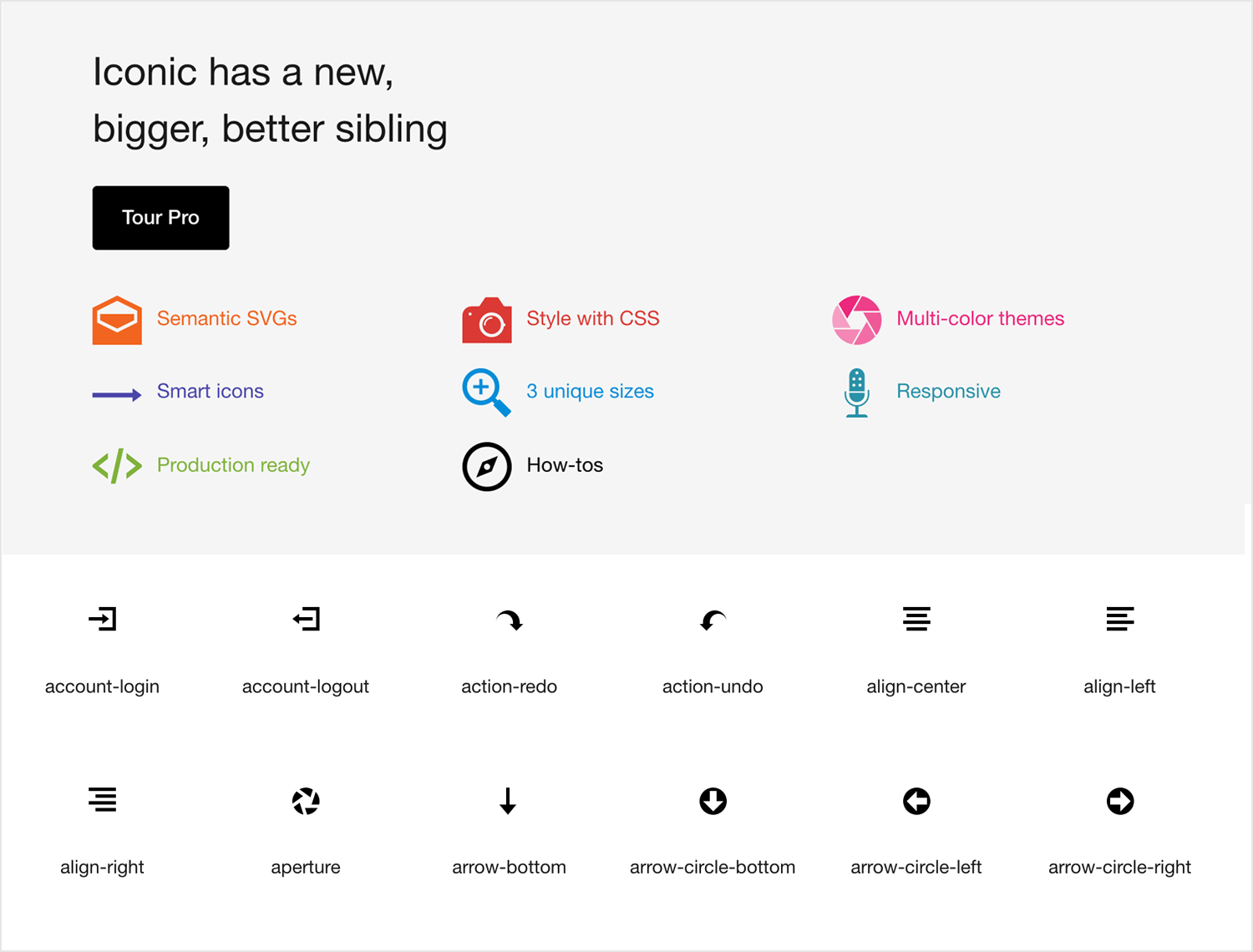 Free app icons to download - Open Iconic