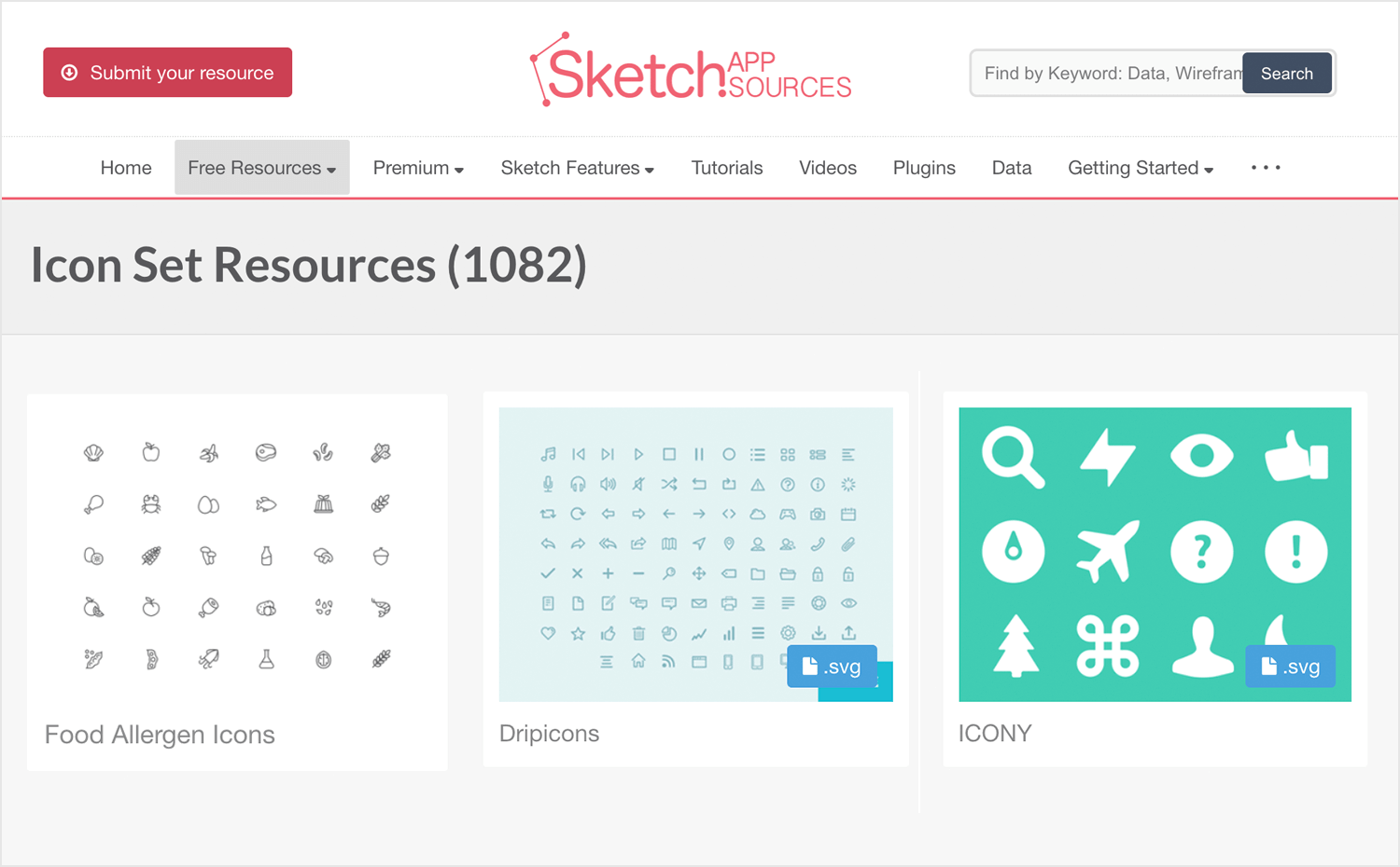 Free app icons to download - Sketch App Sources