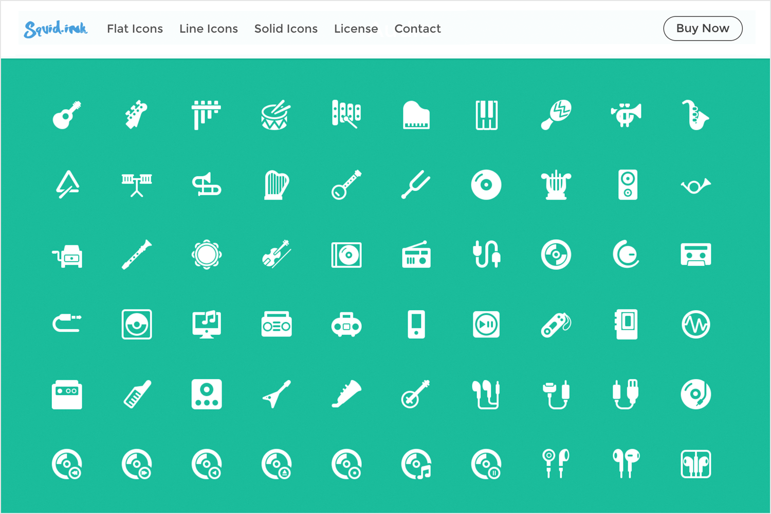 Free app icons to download - Squid Ink