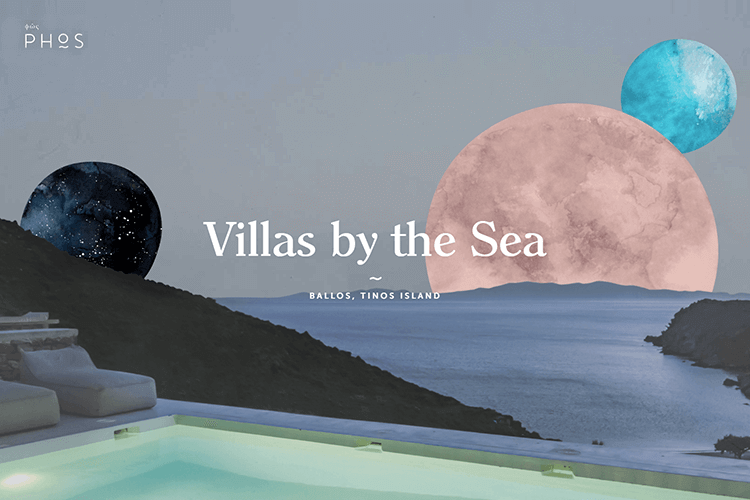Hotel website design - Phos Villas