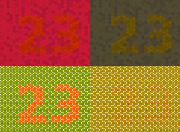 Accessibility testing for websites - color blindness: deuteronomy