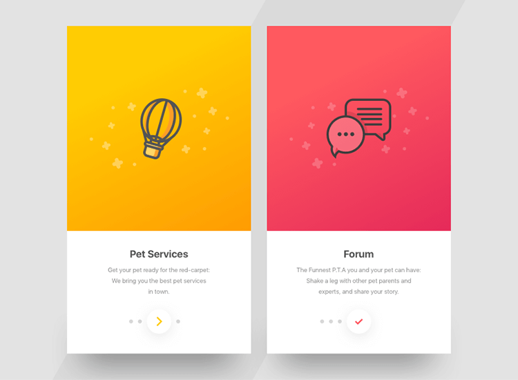 Flat website design - flat design 2.0 uses shadowing to create an illusion of 3D