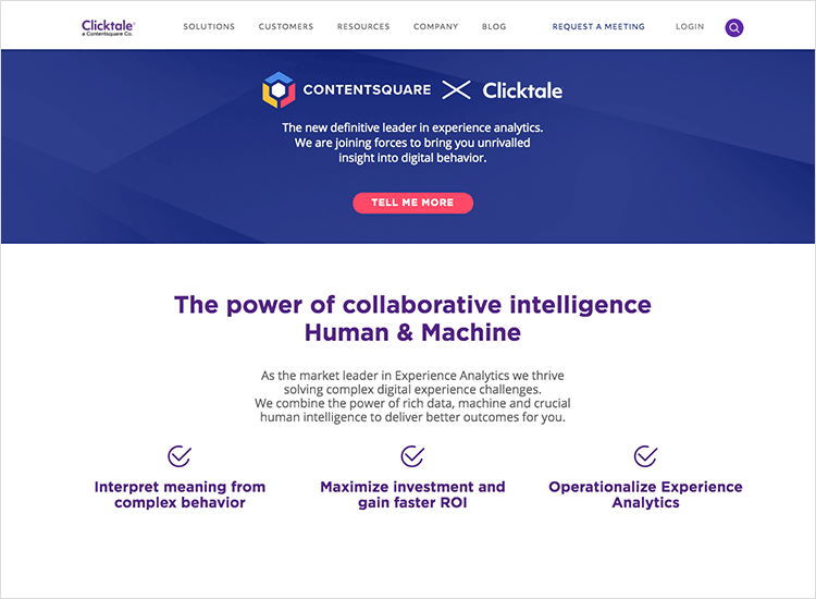 clicktale usability testing tool