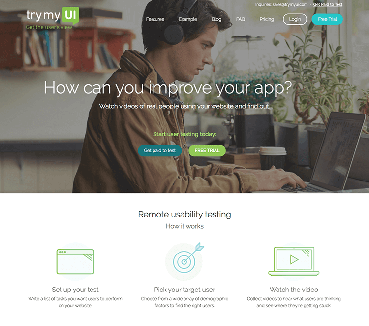 trymyui usability testing tool