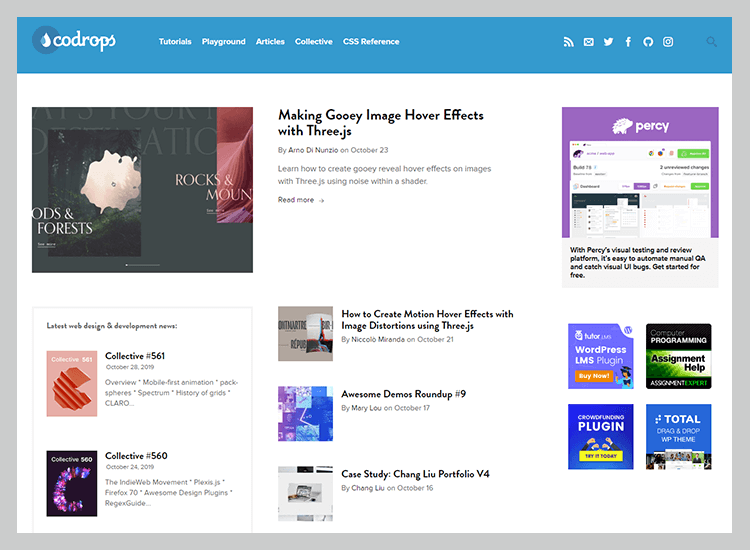 Best web development blogs - Codrops