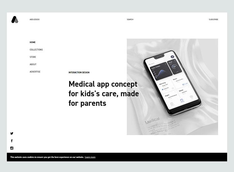 Graphic design blogs - Abduzeedo