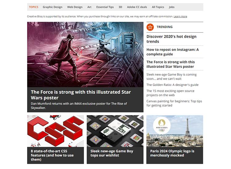 Graphic design blogs - Creative Bloq