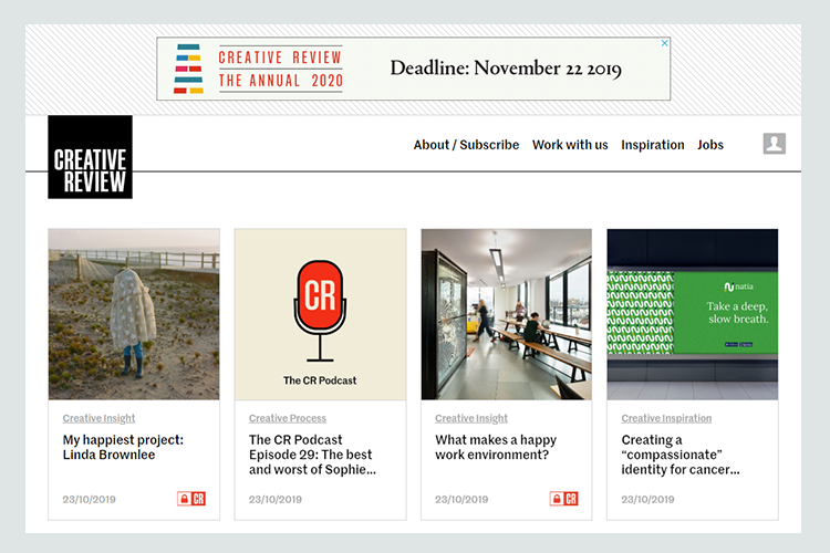 Graphic design blogs - Creative Review