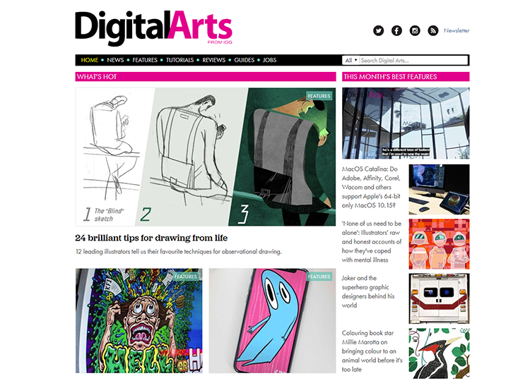 Graphic design blogs - Digital Arts