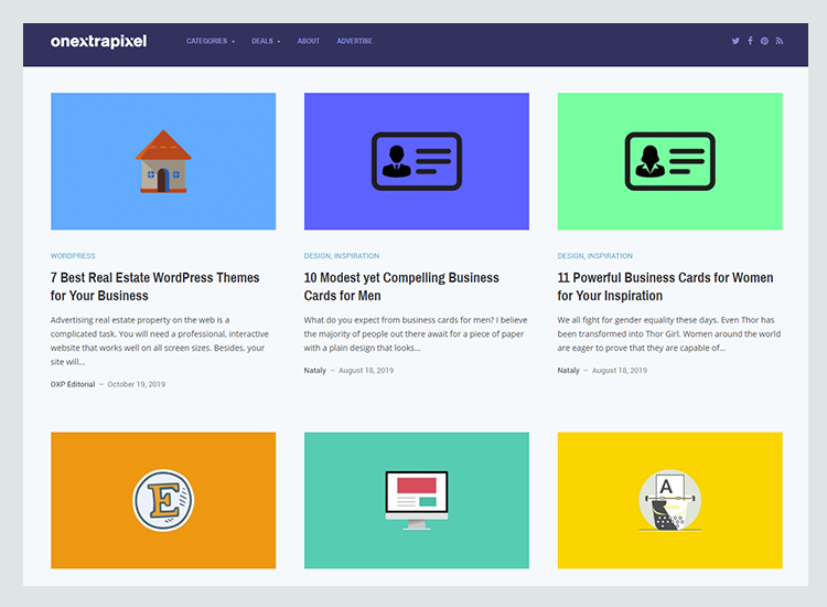Graphic design blogs - One Extra Pixel