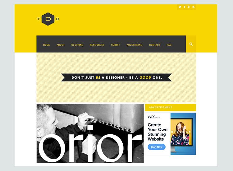 Graphic design blogs - The Design Blog