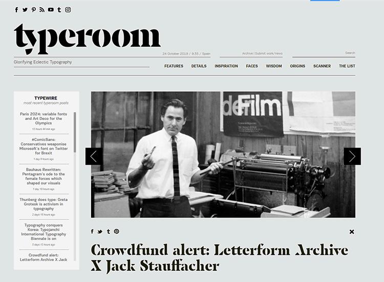 Graphic design blogs - Typeroom