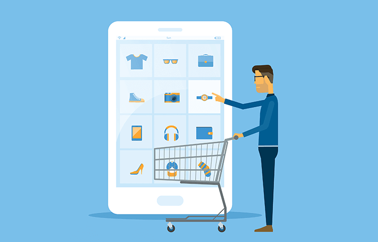 shopping cart design for ecommerce