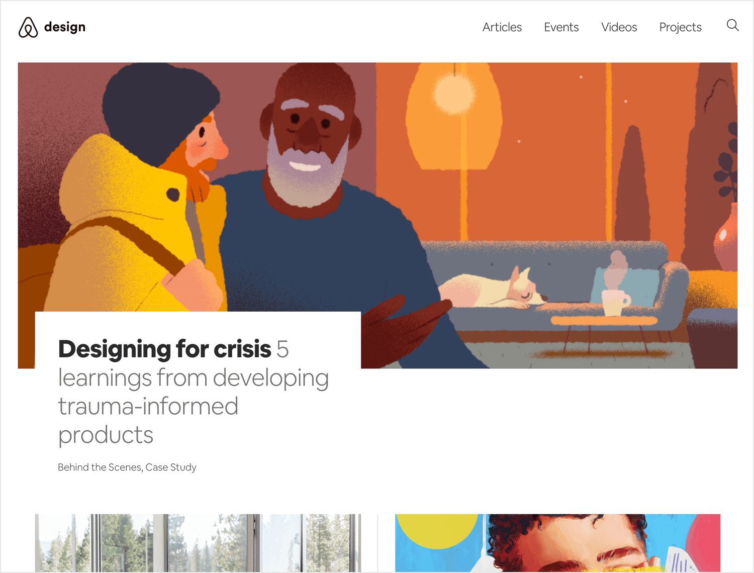 airbnb design as a ux blog to learn about branding
