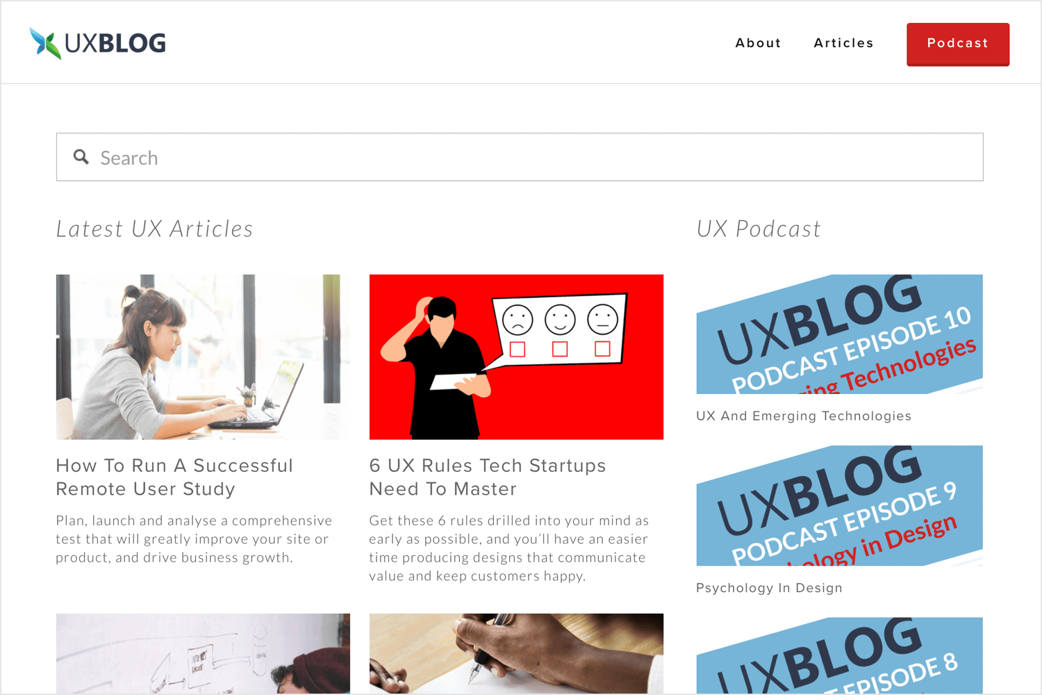 Best UX design blogs - The UX Blog