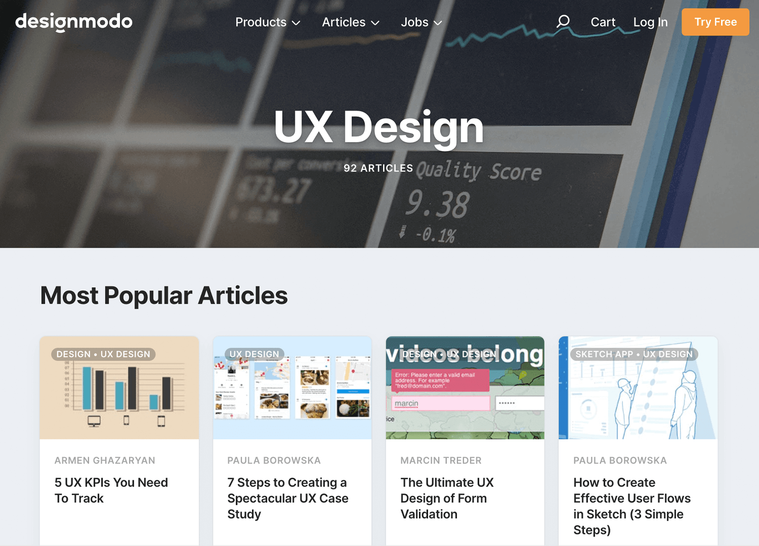 Best UX design blogs - Designmodo