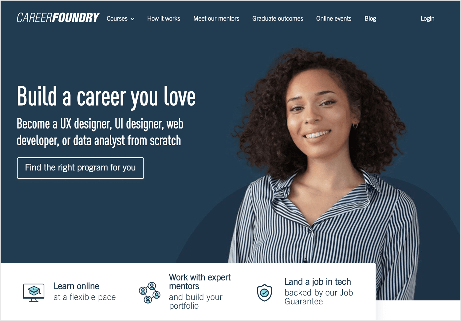 careerfoundry as ux blog for learning design online