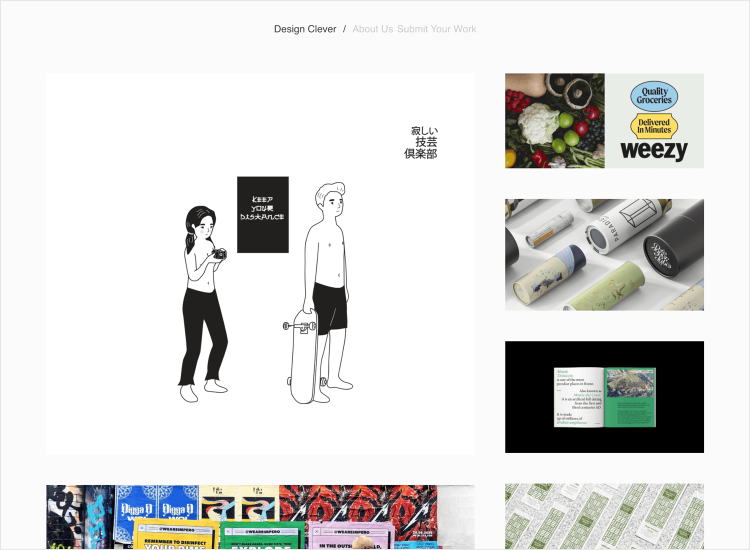design clever as tumblr for inspiration