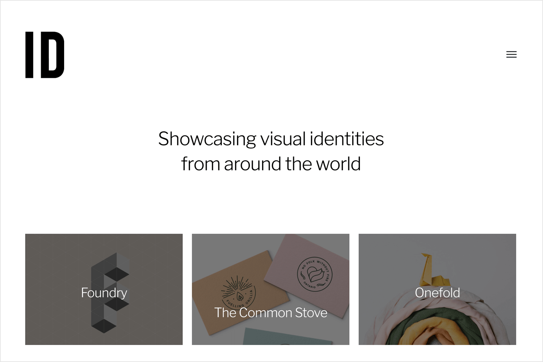 identity as web design and branding blog