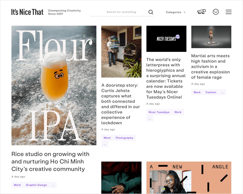 it's nice that design publication