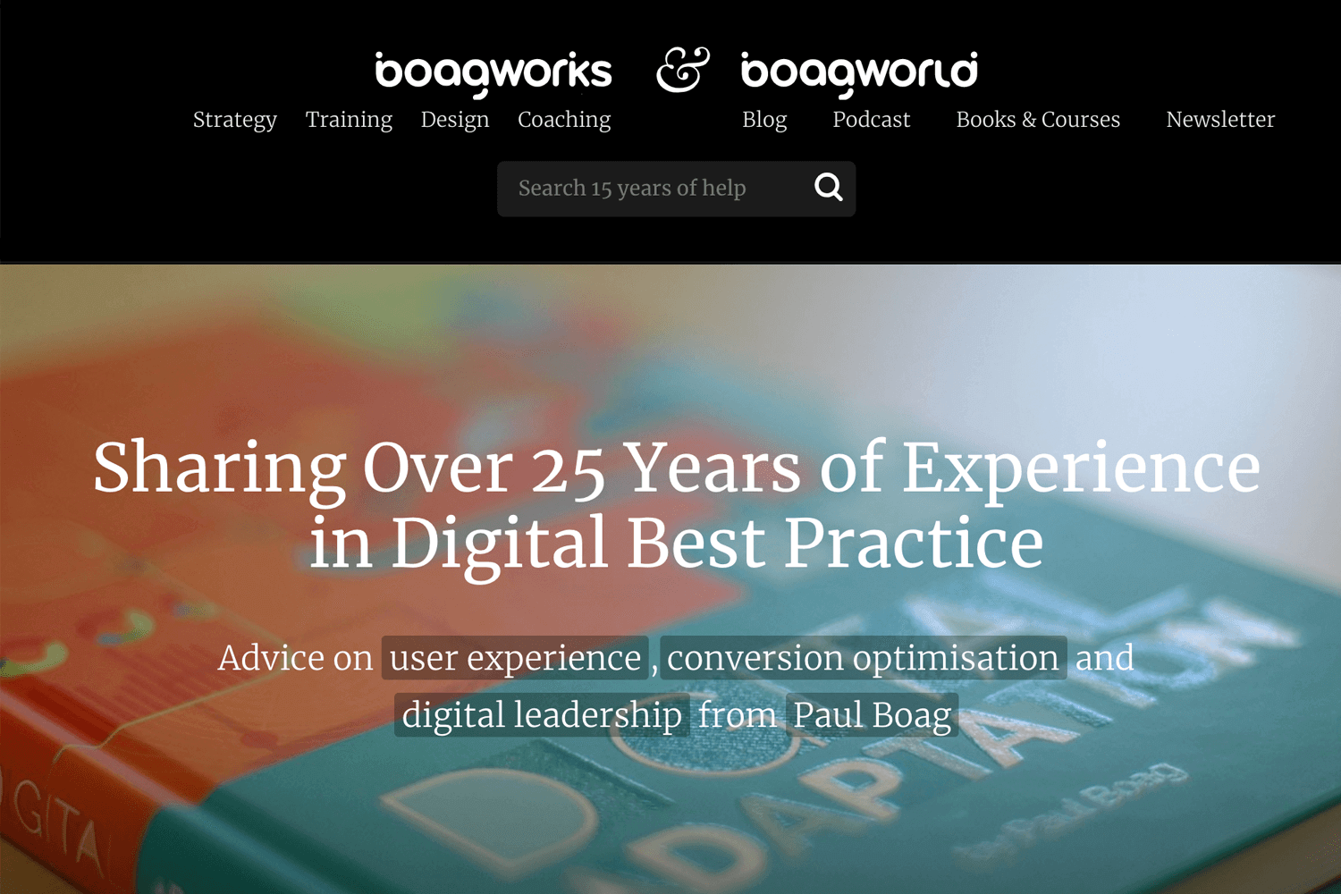 best web design blogs - Boagworld