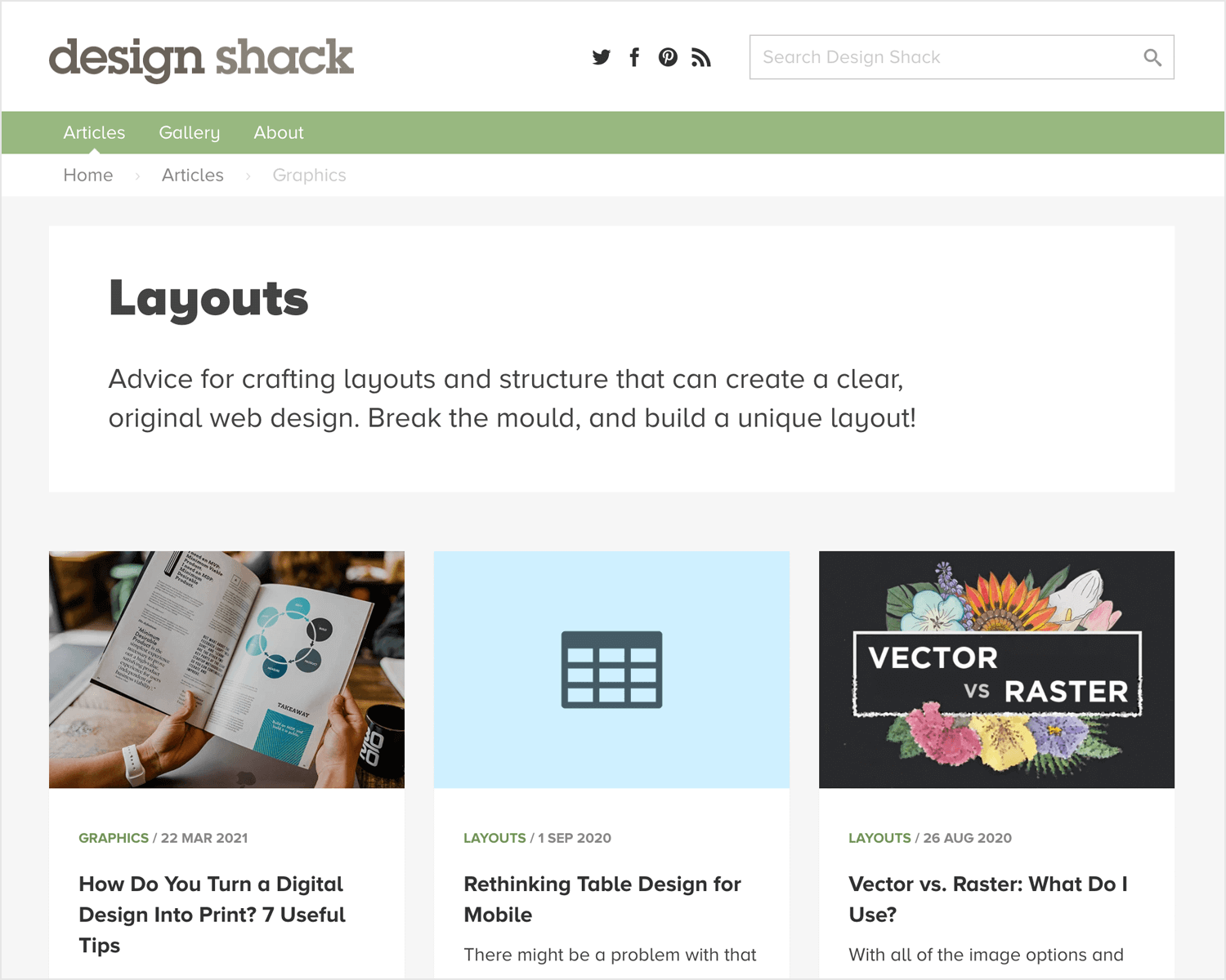 best web design blogs - Design Shack