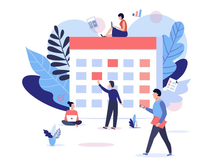 create your a/b testing calendar