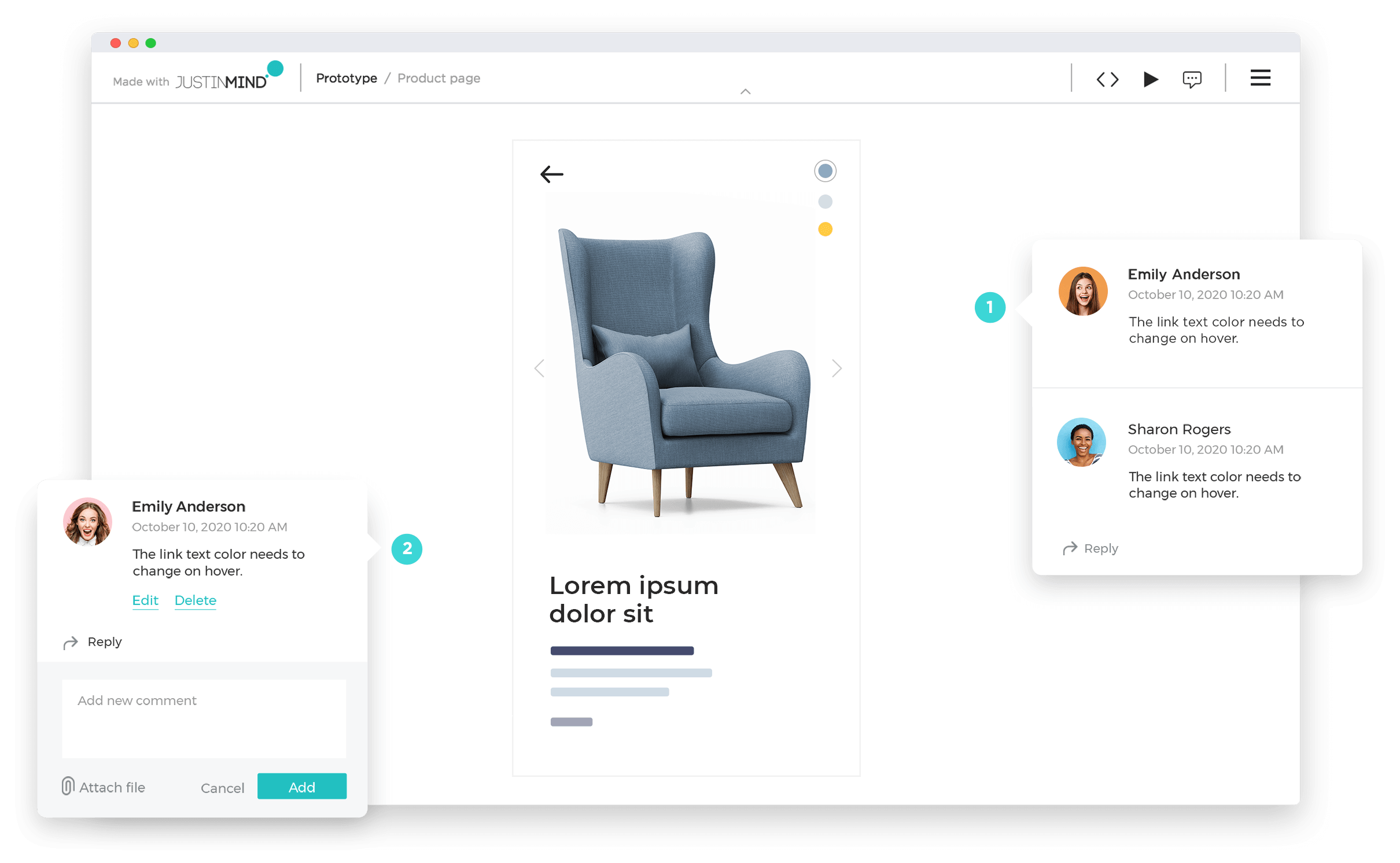 share your wireframe online
