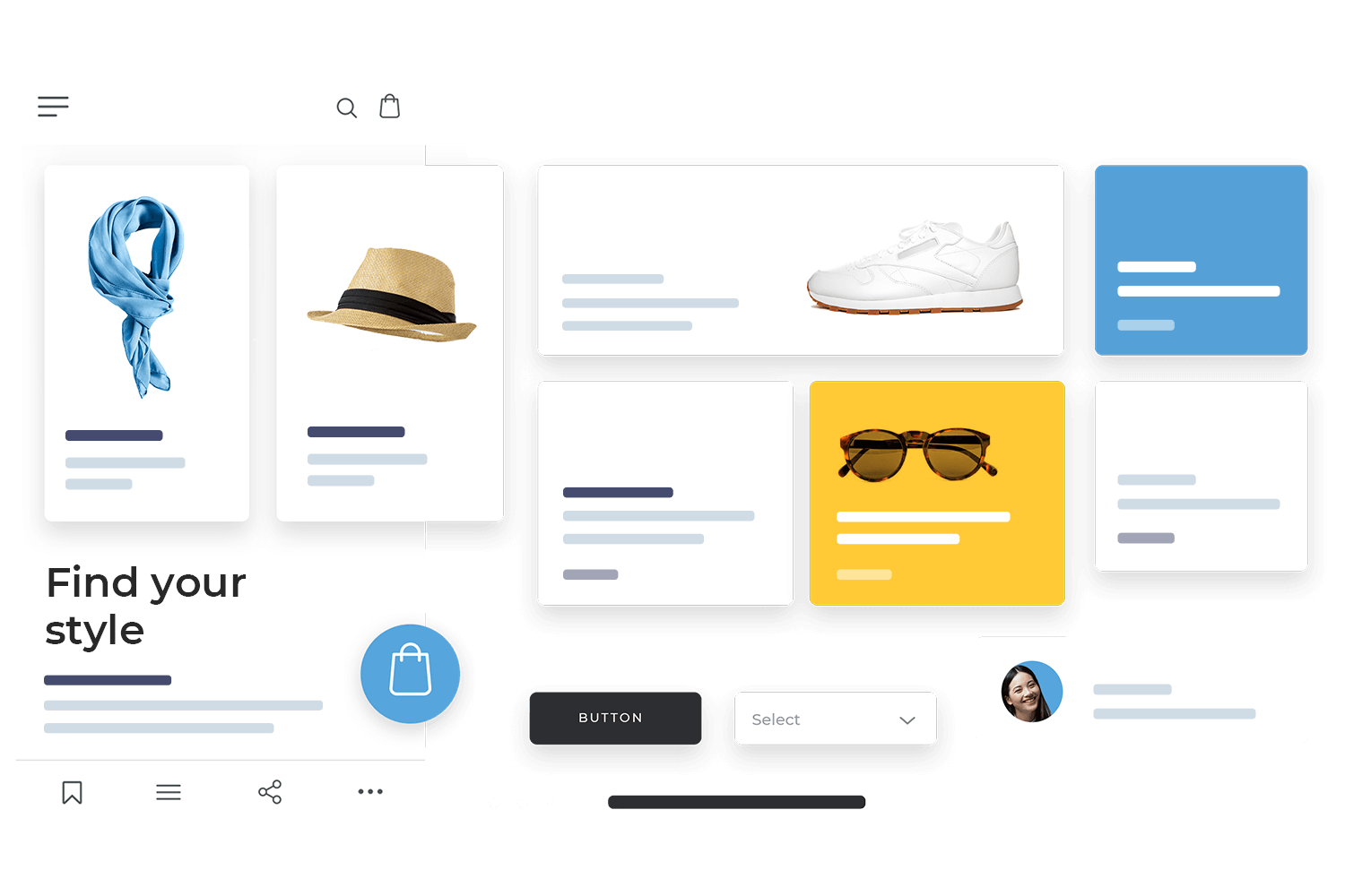 Design systems in Justinmind prototyping