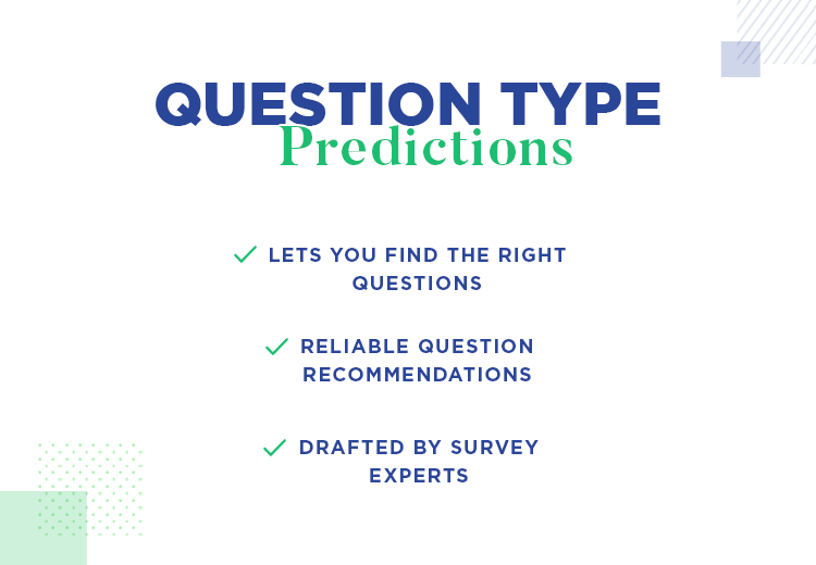 Machine learning with SurveyMonkey's data - question type predictions