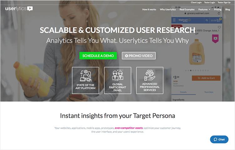 userlytics as mobile usability testing tool