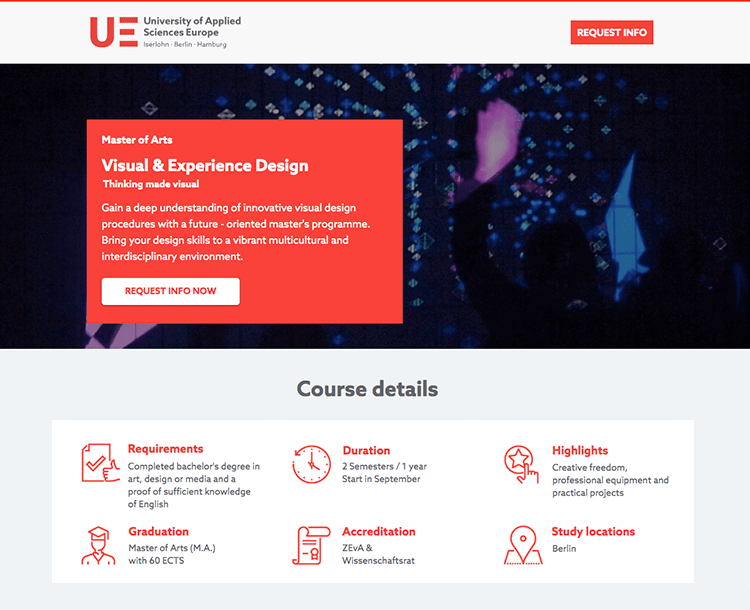 ux course in berlin germany