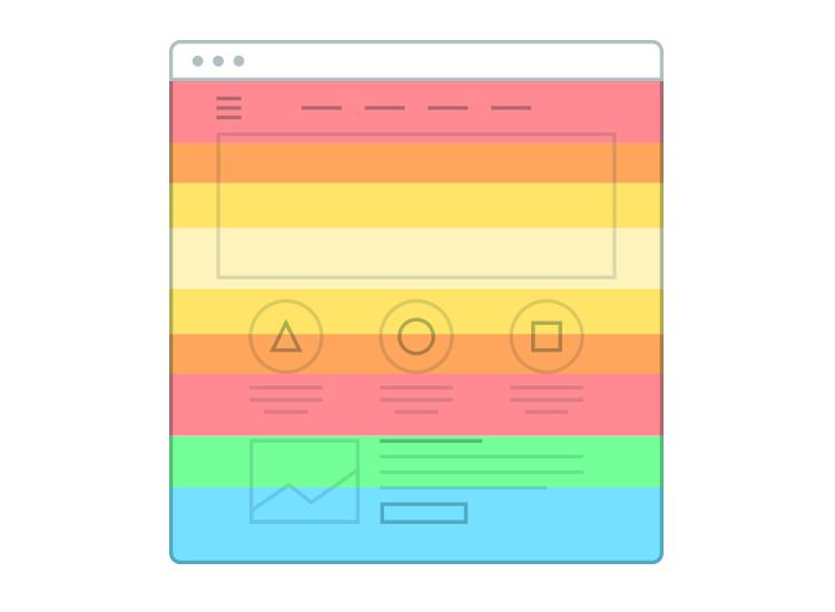 Website heatmaps - scrollmaps show how far down a page users scroll