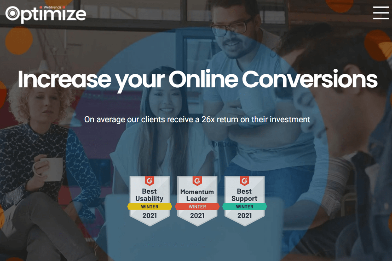 testing tool for conversion optimization - webtrends