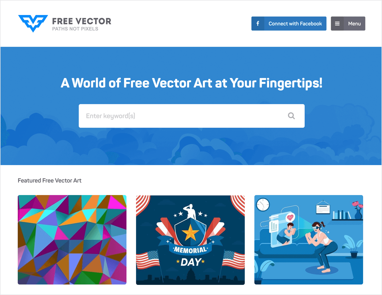 Free vector images - Freevector.com homepage