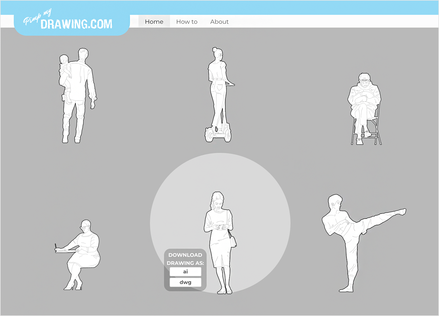 Free vector images - Pimpmydrawing.com homepage
