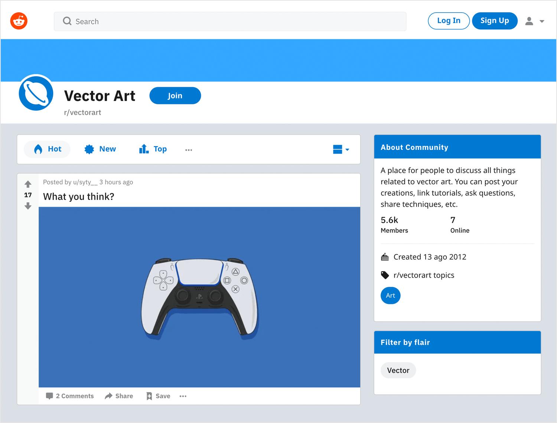 Free vector images - Reddit Vector Art community