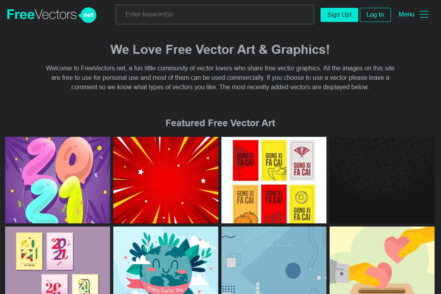 freevectors.net for images and illustrations that are free