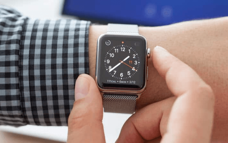 example of skeuomorphism in apple watches