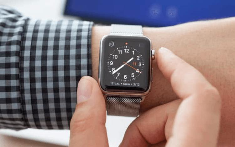example of skeuomorphism in apple watches