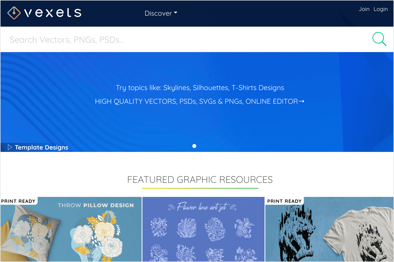 vexels as place for free images and illustrations