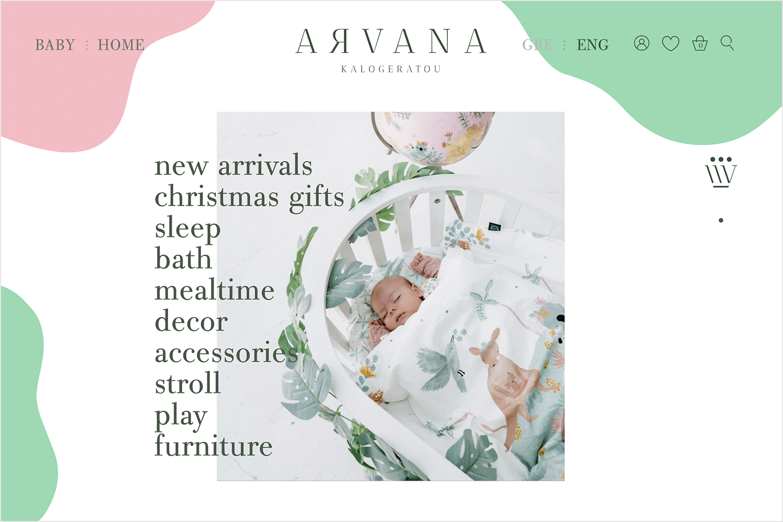 Website backgrounds - Arvana