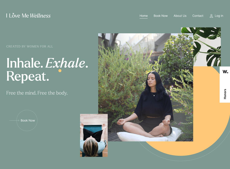 Website backgrounds - I Love Me Wellness