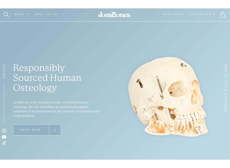Website backgrounds - JonsBones