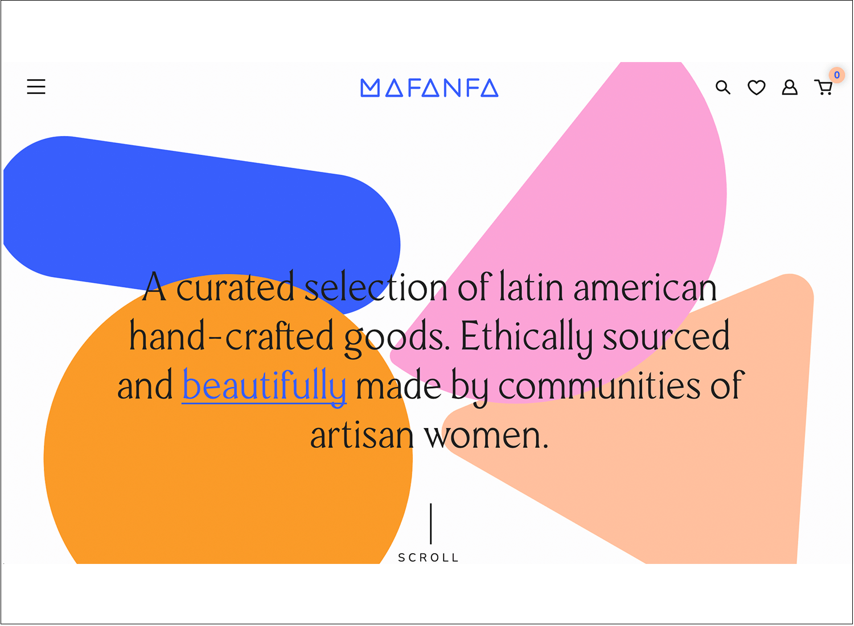 Website backgrounds - Mafana